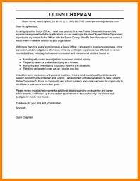 Police Officer Cover Letter Lovely Resume Image Resume Sample