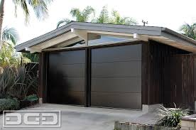 mid century 01 custom architectural garage door