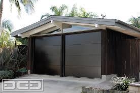 mid century 01 custom architectural garage door