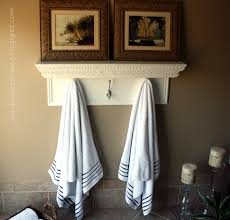 towel hanger ideas.  Ideas Fresh Towel Rack Ideas For Kitchen 22195 Small Bathroom Towel Holder Ideas Intended Hanger N