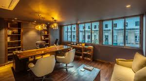 Office interior decoration Private Office Azurerealtygroup Charismatic Office Offices Executive Cabins Interior Decoration Ideas