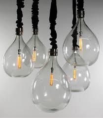 wine sphere edison bulb chandelier