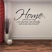 family wall sticker quote home where you treat your friends like family and family like on wall art decals australia with buy removable wall art decals wall decals in australia fixate