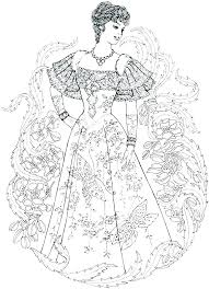 Fashion Design Coloring Pages For Printable Jokingartcom Fashion
