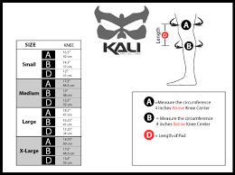 Kali Knee Pads Size Chart Kali Protectives Aazis Plus 130 180 Soft Knee Shin Guards