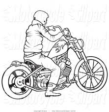 Motorcycle clipart for kid 33