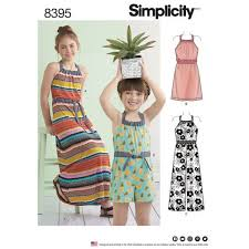 Simplicity Jumpsuit Pattern Delectable 48 Simplicity Pattern Childs And Girls Dress And Jumpsuit