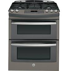 double oven gas range. PGS950EEFES GE Profile Series 30 Double Oven Gas Range