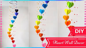 how to make hanging paper decorations diy wall decor ideas on beautiful diy wall decoration ideas
