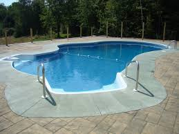 Walk In Pools Fox Pool 17 X 33 Lagoon W Buddy Seat And 6 Walk In Stairs