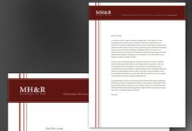 Letterhead Template For Design For Attorney And Legal Firms