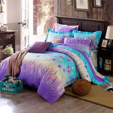 bright colored bedding for adults. Simple Adults Aqua And Purple Forest Scene Full Size Bright Color Bedding Sets For Colored Adults S