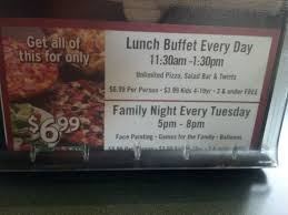 round table night buffet ideas
