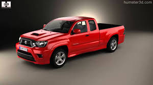 Toyota Tacoma X-Runner 2012 by 3D model store Humster3D.com - YouTube