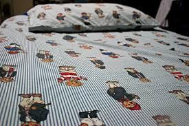polo bear sheets