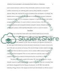 example of critical thinking essays examples of critical thinking essays conflict management and