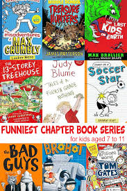 do you have a humorous chapter book series that has been por in your house