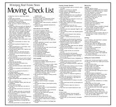 Move Checklist Template Moving Packingist Template Sample House Home Packing List