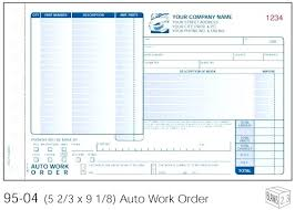 Auto Repair Invoice Template Word And Estimate Excel Automotive ...