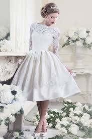 25 Utterly Gorgeous Tea Length Wedding Dresses Short Wedding White Tea Length Wedding Dress