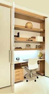 traditional hidden home office desk. Hidden Office Furniture. Astounding Trendy Desk Cabinet Having A Area Home Computer Inovative Traditional G
