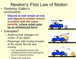 Laws Of Motion Examples Newtons First Law Of Motion Examples Read