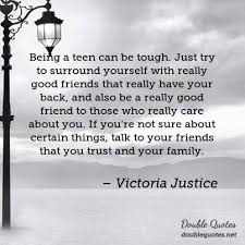 Really Good Quotes Adorable Victoria Justice Good Quotes Double Quotes