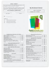 School Montessori Information Schools System Quickschools For Student Cards com Management amp; Report Skills-based Blog