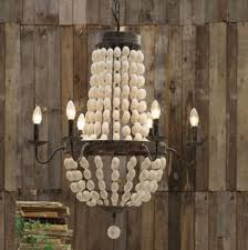 excellent wooden chandelier nz mud white landing earrings lighting wood bead uk clay beaded instructions diy
