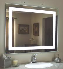 Hotel Bathroom Lighted Mirror Hot Item 5mm Ce Ul Certificated Wall Mounted Hotel Bathroom Led Lighted Mirror With Defogger