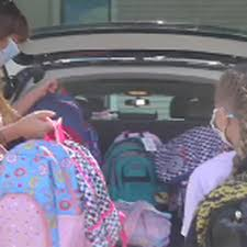 Little girl makes big backpack donation to Penquis