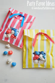 DIY Window Favor Bags - Tutorial, Ideas For Party Favors - Kara's Party  Ideas - The Place for All Things Party