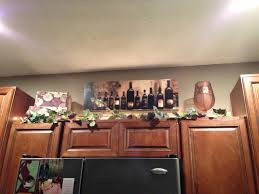 For Decorating A Kitchen 17 Best Images About Above Cabinets And Platerail Decorating On