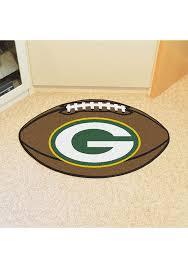 green bay packers 22x35 football interior rug
