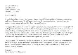 Retail Job Cover Letter Sample Cashier Cover Letter Sample Cover