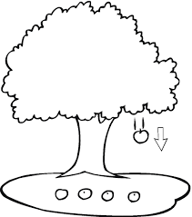 Nice Cute Apple Tree Coloring Page Wecoloringpage Pinterest Inside