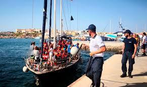 The Publics Radio Migrants In Italy Boat Dispute Disembark On