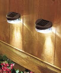 outdoor accent lighting ideas. solar fence lights outdoor accent lighting ideas