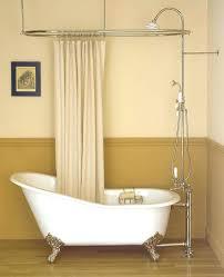 extraordinary shower curtain rod for clawfoot bathtub furniture graceful hoop shower curtain rod curved bay window extraordinary shower curtain