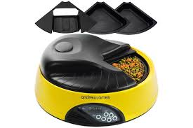 andrew james 4 portion automatic pet feeder