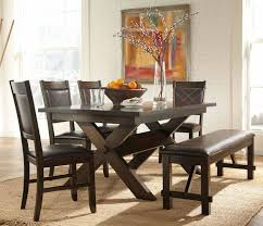 ideas dining room sets with cool 19 dining room table set with bench furniture attractive table chairs and bench set 43 innovative