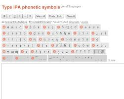 There are several spelling alphabets in use in international radiotelephony. Type Ipa Phonetic Symbols Online Keyboard Al