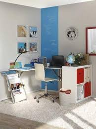 white home office furniture. space saving ideas and furniture placement for small home office white u