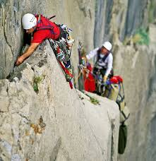 aid climbing takes you to wild places on big walls like el capitan in yosemite valley photograph copyright corey rich getty images