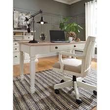 devrik home office desk chair 1. solid wood home office desk chair in cream finish signature u2013 expensive furniture devrik 1