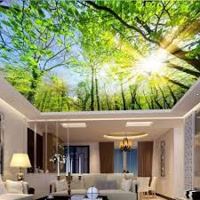 custom photo 3d ceiling murals wall paper contracted the sky tree decoration painting 3d wall murals