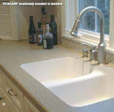 undermount sink with laminate countertop. Seamless Undermount Sink In A Granite-look Laminate Countertop. With Countertop N
