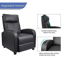 homall single pu leather recliner 2