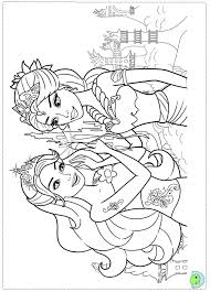 Small Picture Barbie Mermaid Coloring Pages FunyColoring