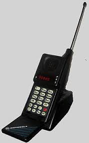 motorola. the motorola microtac 9800x was first of many models produced over nearly a decade.